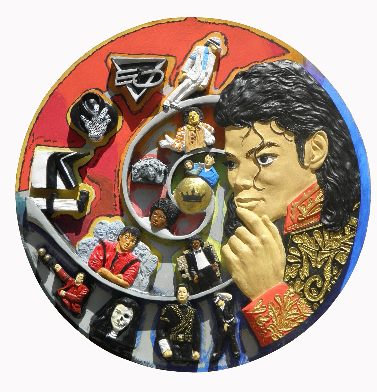 King-of-Pop-ceramic-plate