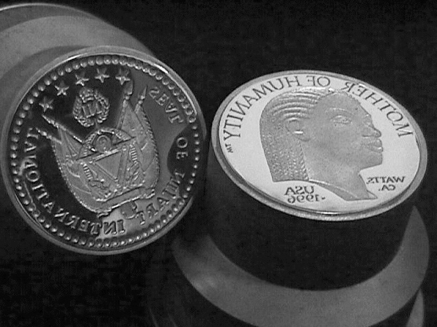 Mother of Humanity® coin dies