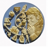 Michael Jackson - History Revelation ceramic plate