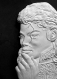 Michael Jackson bas relief