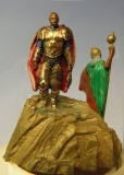 Moors miniature bronze