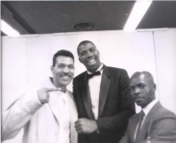 Nijel with Joshua Thompson and Magic Johnson