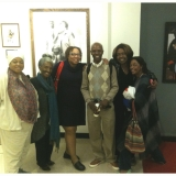 Dr. A. Hasani Perry and group