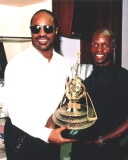 Nijel and Stevie Wonder