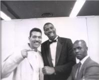 Nijel with Joshua Thompson and Magic Johnson