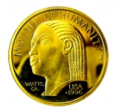 Mother of Humanity® Gold coin obverse