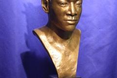 Basquait bronze