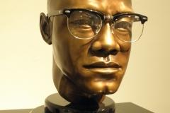 Malcolm X bronze
