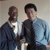 Nijel and Jackie Chan