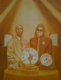 Nijel and Michael painting