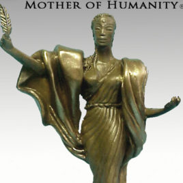 Mother of Humanity® Miniature Sculpture by Nijel Binns