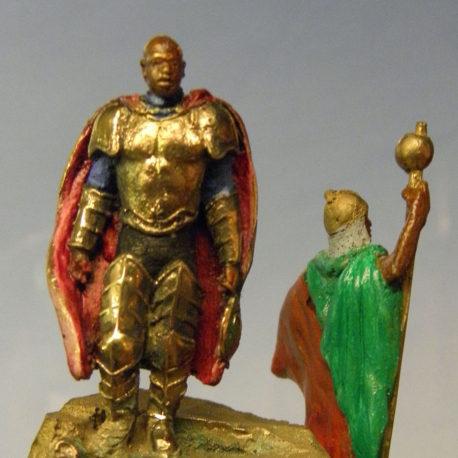 Moors-miniature-bronze BLOCK